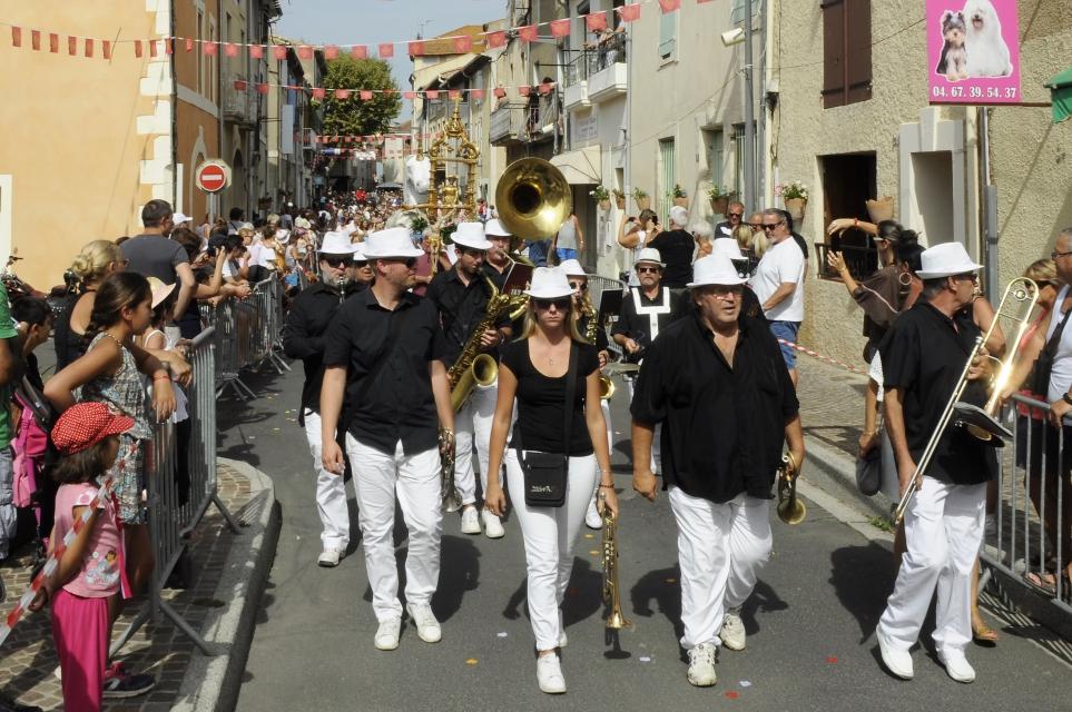 saint, Roch,saintroch,Saint Roch,tradition,fête,chevaux,bénédiction,Sérignan